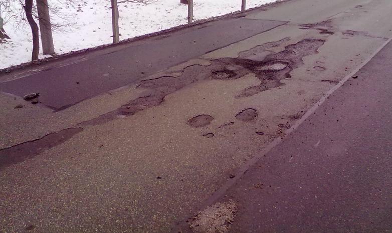 Nejhorší dírou v republice se stala silnice II/471 Bohumín – Rychvald