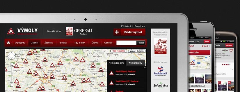 Startuje celoroční monitoring silničních výtluků na území ČR – Výmoly 2012