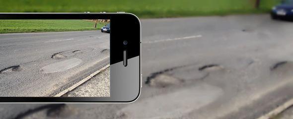 Mobilní aplikace Výmoly usnadní monitorování výtluků na českých silnicích