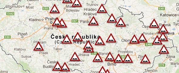 """Dálnice D1 zvolena """"vítězem"""" anticeny Nejhorší díra vrepublice 2019 projektu Výmoly.cz"""