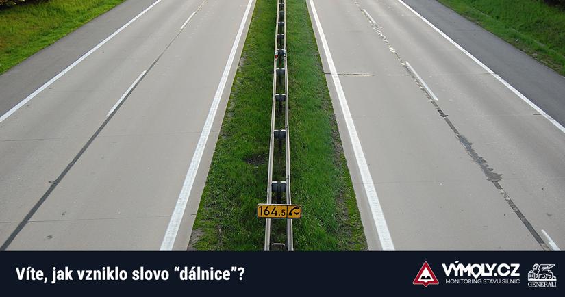 """Slovu """"dálnice"""" bude zanedlouho 80 let. Víte, jak vzniklo?"""