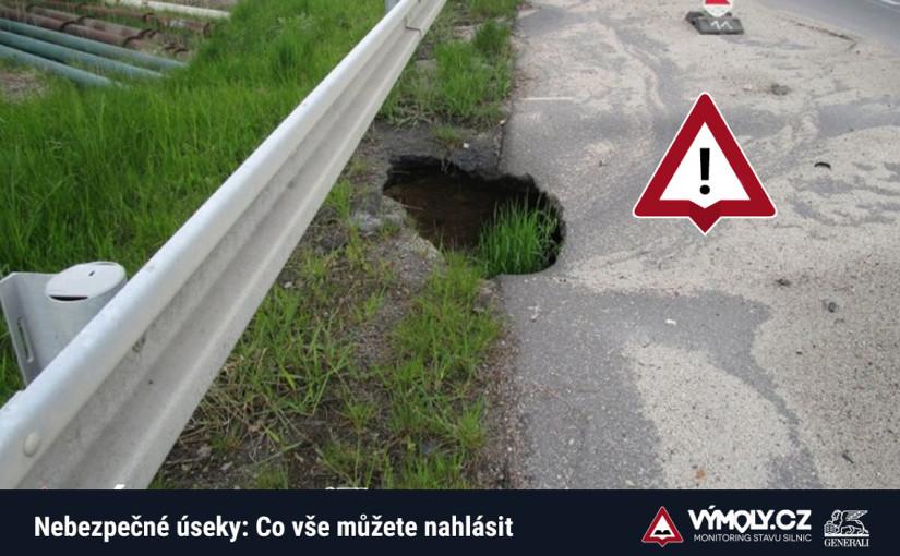Nebezpečné úseky: S jakými překážkami se na silnicích setkáváme nejčastěji?
