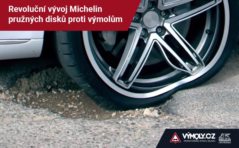 Revoluční vývoj Michelin pružných disků proti výmolům